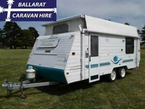 Jayco Freedom Double Bed Front Bunks Ballarat Central Ballarat City Preview