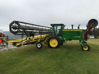 2010 JOHN DEERE A400 SWATHER 36' EXCELLENT 467HRS