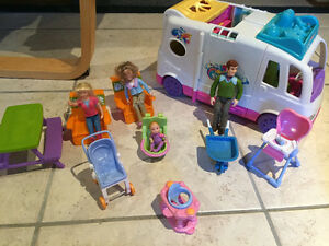 Camion roulotte Fisher Price