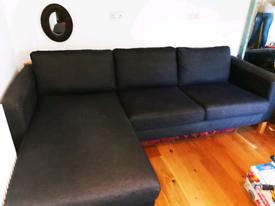 IKEA Karlstad sofa with chaise