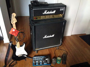Amp Head, Cab, Guitar and Pedals (and more)