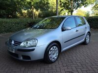 VW Golf 1.4 S 2005, Metallic Silver, 5 Speed Manual, Full Service History, HPI Clear