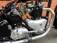 TRIUMPH 6T THUNDERBIRD/BLACKBIRD 1954 650cc SU Carb Matching Numbers