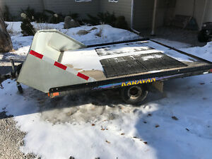 Trailer for Sleds or ATVs