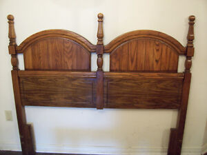 MINT! Colonial Oak Queen Headboard for sale