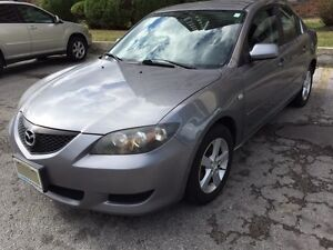 2004 Mazda 3 low kms