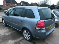 Vauxhall/Opel Zafira 2.2i 16v Direct auto 2007.5MY Design - 8 Service Stamp