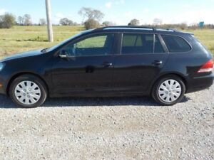 2010 VW GOLF WAGON 2.5L GAS AUTO 202.000KM $5800 CERT.