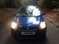 08 plate Ford Fiesta ghia tdci deisel 94000 miles ford service history 11 months mot leather