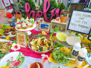 Mexican fiesta party/bachelorette decor