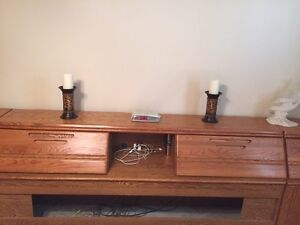King size headboard and 2 side cupboards Cambridge Kitchener Area image 3