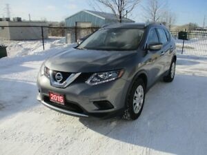 2015 Nissan Rogue S  50,000 KM !!!! NO ACCIDENT !!!!