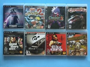 Disgaea, Naruto, God of War, Ni No Kuni , NHL Legacy...