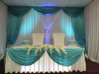 WEDDING DECORATION, EVENT DECOR & FLOWER,CHAIR COVER