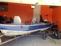"14"" Fishing boat for sale inc. 2 motors"
