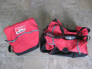 SOFT DUFFLE/MULTI-PURPOSE BAG/TWO IN ONE