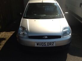 Ford Fiesta 1.2 with 10 service stamps