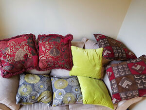 All must go, pick and match your pillows