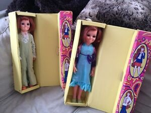 2 Chrissy Velvet Fashion Dolls
