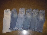 CP girls' jeans lot