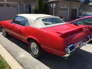 72 OLDSMOBILE CUTLASS CONVERTABLE FOR SALE