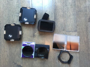 ND8 filter, circular polarizer, Gradient filters, and more
