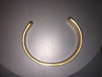 Cartier Sabona 18k Gold & copper bangle Bracelet . 22grams.