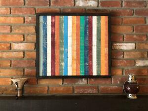 Reclaimed Wood Wall Art