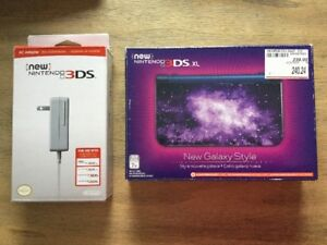 Nintendo 3DS Galaxy XL comme neuf + chargeur - 170$