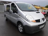 RENAULT TRAFIC LL29 DCI 115 LWB LC DOUBLE CAB, Silver, Manual, Diesel, 2007