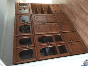 Display Cabinets set of 3 pieces