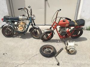 1969 69 FOX SPOILER Street Scamp Campus Mini Bike 2 Rupp Vintage