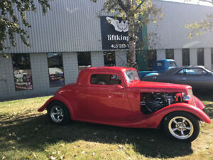 1934 Ford 3 window  coupe.  Sale or trade !