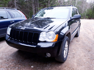 Jeep grand cherokee 4X4 Noir Diesel Mercedes 3.0L automatique O/