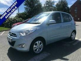 2011 Hyundai i10 1.2 ACTIVE 5d 85 BHP Hatchback Petrol Manual