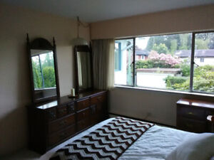 Furnished Bedroom close to UBC - quiet and clean house