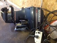 Evinrude 50hp outboard boat motor