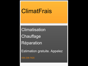 CLIMATISATION-FOURNAISE-THERMOPOMPE-ECHANGEUR D'AIR.
