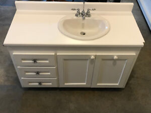 Bathroom Vanity (used) for sale:  $300.00