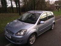 2006 Ford Fiesta 1.4 GHIA-12 months mot-service history-exceptional condition-great value