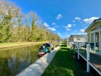 Static Caravan For Sale Canal-Side Pitch Beautiful Location Lancashire Southport