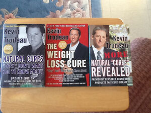 Kevin Trudeau books as seen on tv