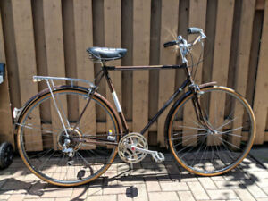 Classic Vintage Raleigh Cruiser with Brooks Saddle