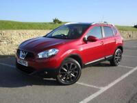 2012 Nissan Qashqai 1.5 DCI N-Tec+ 5 doors manual in red #HIGH SPEC MODEL#
