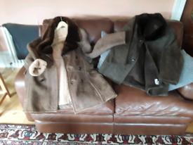 Sheepskin coats