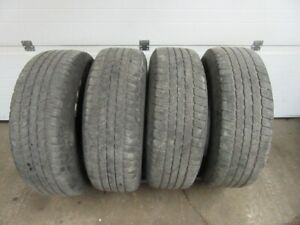 4-265/65R17 M+S GOODYEAR WRANGLER ALL SEASON TIRES