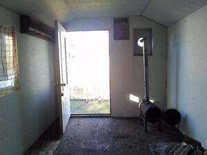 16x8 insulated ice shack/garden shed/ workshop Moose Jaw Regina Area image 1