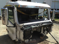 Parting out a Volvo Cab VHD64B