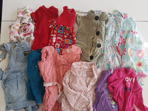 Bag of 12-18 month baby girl clothes