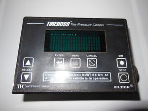 TireBoss Tire Pressure Control system